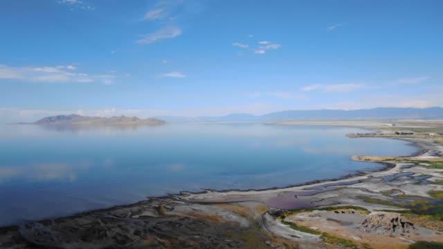 vidéos et rushes de le grand lac salé - lac salé