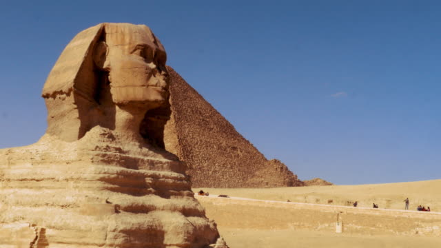 The Great Sphinx of Giza at Giza Plateau, Egypt