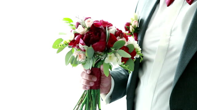 the groom dresses to the wedding the groom dresses to the wedding Ukraine sleeve stock videos & royalty-free footage