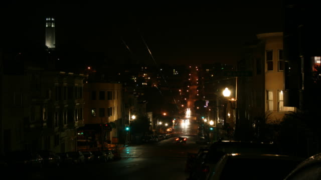 The Hills of San Francisco Time Lapse video