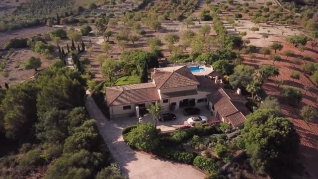 マヨルカ、スペインの家 - ヴィラ点の映像素材/bロール