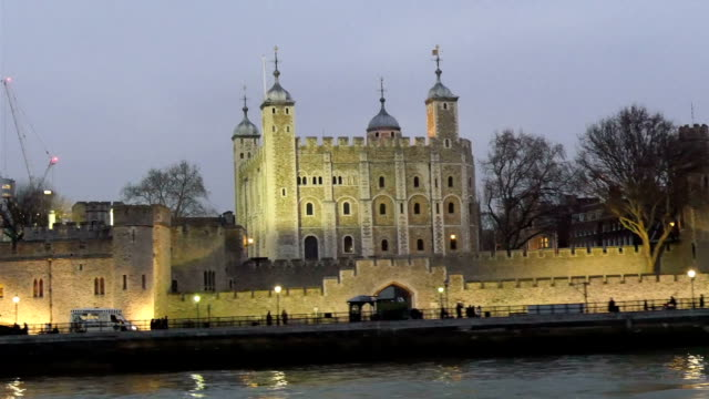 The huge palace in the middle of the London city video