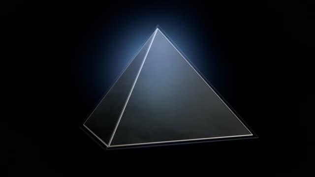 illuminati bakgrunden (loop) - pyramidform bildbanksvideor och videomaterial från bakom kulisserna