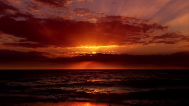 The impossible perfect sunset