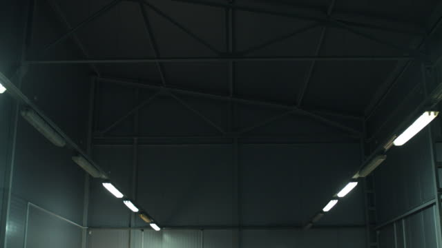 The Inclusion Of Lighting In An Industrial Building.