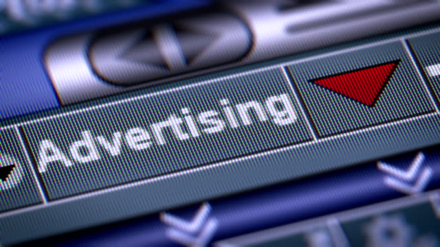 The Index of Advertising on The Screen. video