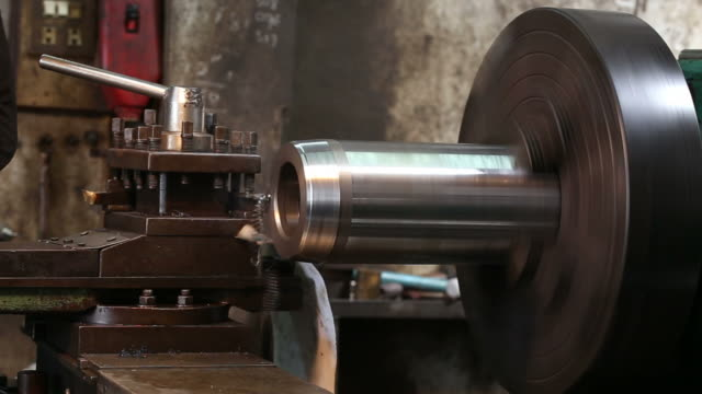 the Industrial Lathe video