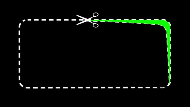 la schermata di lancio con scissors. chromakey. - forbici video stock e b–roll