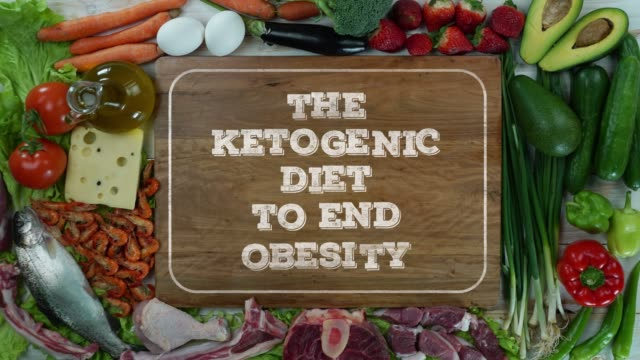 The ketogenic diet to end obesity stop motion video