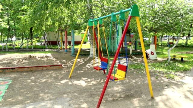 幼稚園児お子様用の遊び場 - 託児施設点の映像素材/bロール
