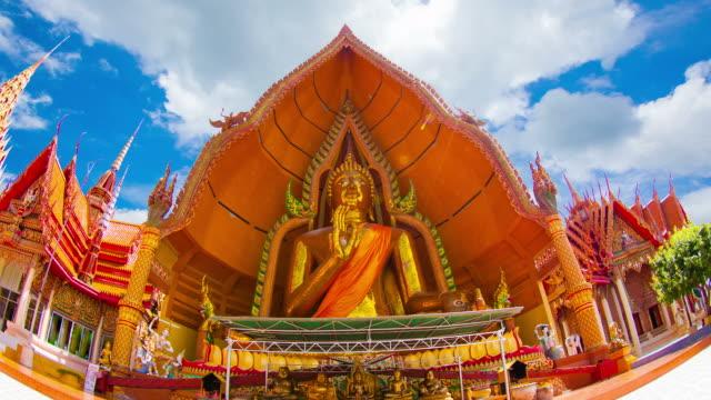 The large Buddha statues wat tham sua. video