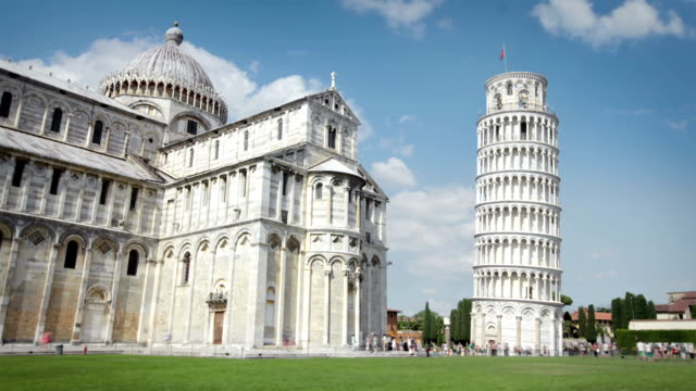 The Leaning Tower of Pisa, Tuscany, Italy video