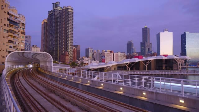 The light rail system in Kaohsiung is the first light rail transit in Taiwan