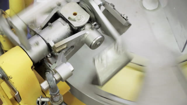The Machine Is Putting Butter Into Packs video