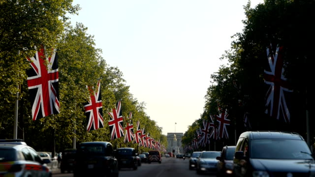 The Mall in London, England. video