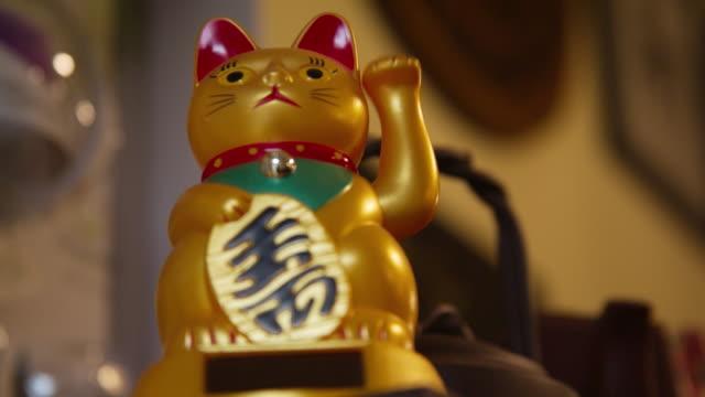 招き猫招猫 - 幸運点の映像素材/bロール