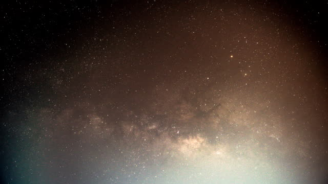 The Milky Way Time lapse video