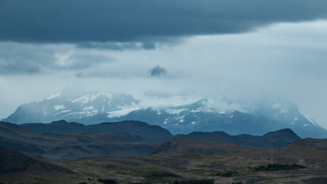 The mountains before the Storm 4K Timelapse Sequence of Torres del Paine, Chile - The mountains before the Storm sorpresa stock videos & royalty-free footage