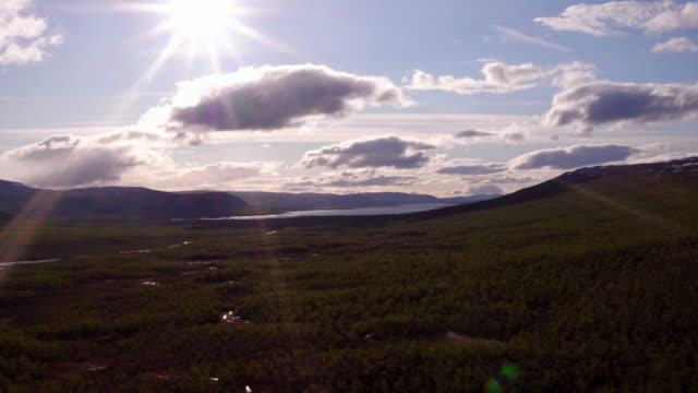 antenn: arten av norra sverige - norrbotten bildbanksvideor och videomaterial från bakom kulisserna
