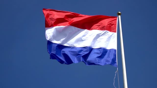 The Netherlands flag video