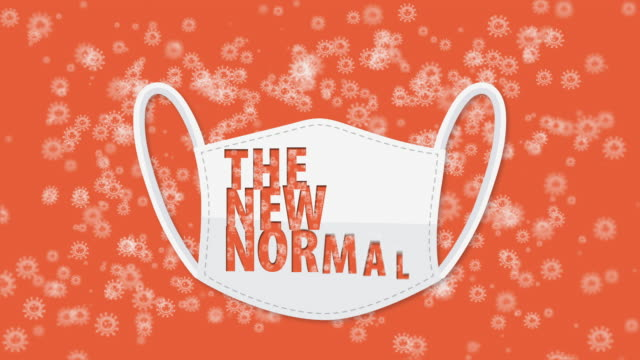 the new normal, covid-19 - new normal video stock e b–roll