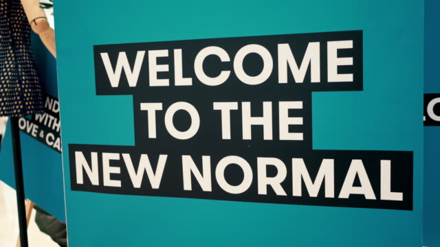 the new normal - new normal video stock e b–roll