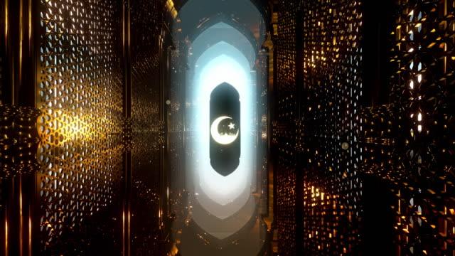 the night of ramadan - ramadan kareem стоковые видео и кадры b-roll