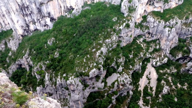 The observation deck of the Verdon gorges. Provence. France
