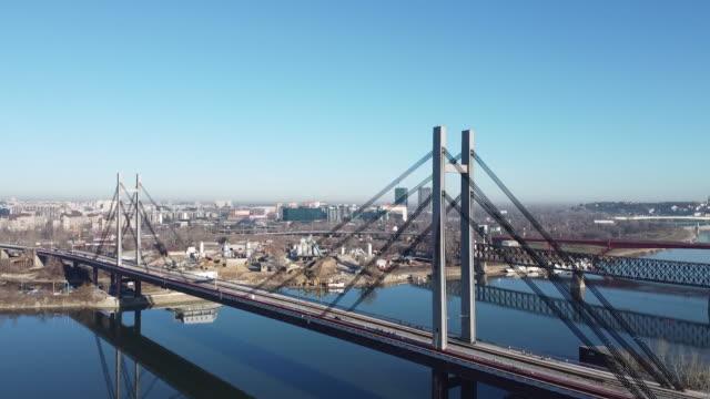The Old railway bridge above Sava river