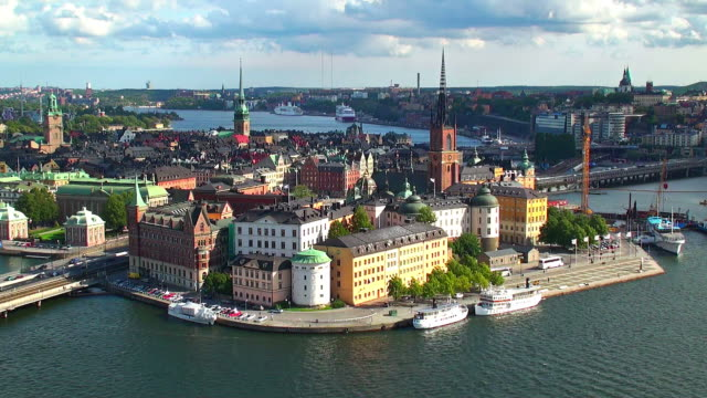 The Old Town in Stockholm, Sweden video