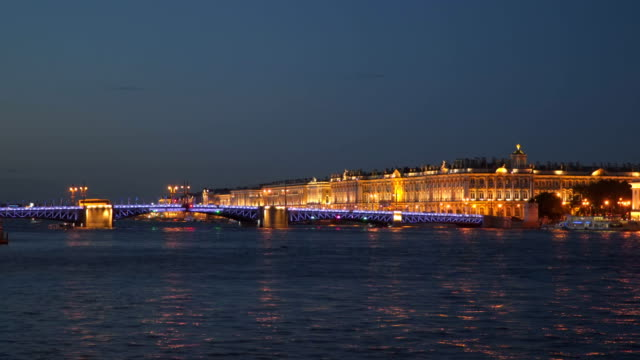 The Palace Bridge and the Winter Palace video