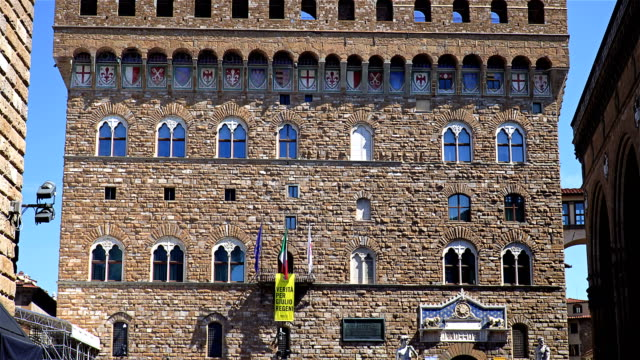 The Palazzo Vecchio (Old Palace) Tuscany, Florence, Italy video