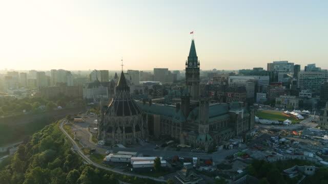 vídeos y material grabado en eventos de stock de el parlamento de canadá - canadá