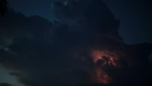 the perfect storm - lightning filmów i materiałów b-roll