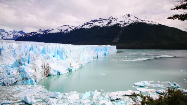 The Perito Moreno Glacier in Patagonia. Argentina HD Timelapse video