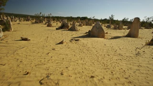 The Pinnacles at noon video