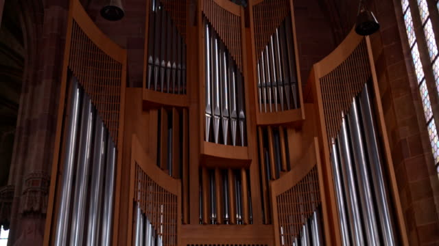 the pipe organ in the Church video