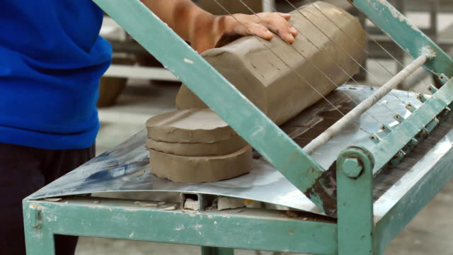 The Process of Making Ceramic by machine in ceramic factory