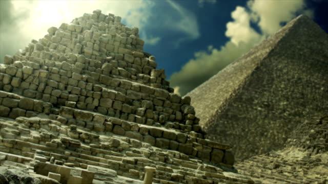 The Pyramids of Giza Egypt video