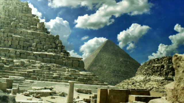 The Pyramids of Giza Egypt video