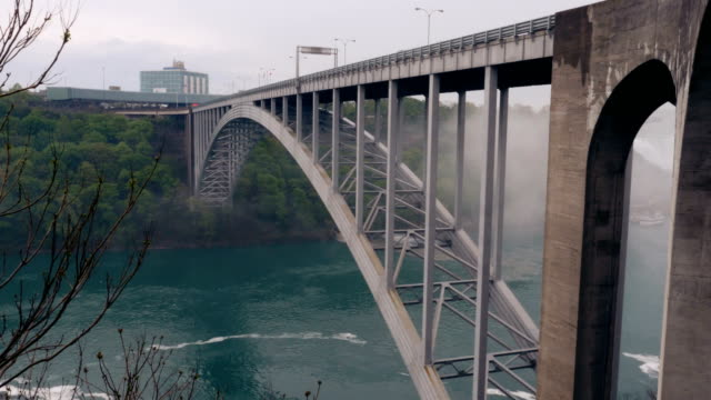 The Rainbow Bridge Connecting Canada and the United States of America video