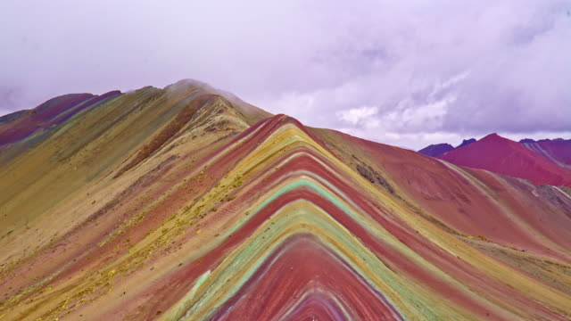 The Rainbow Mountains Peru video
