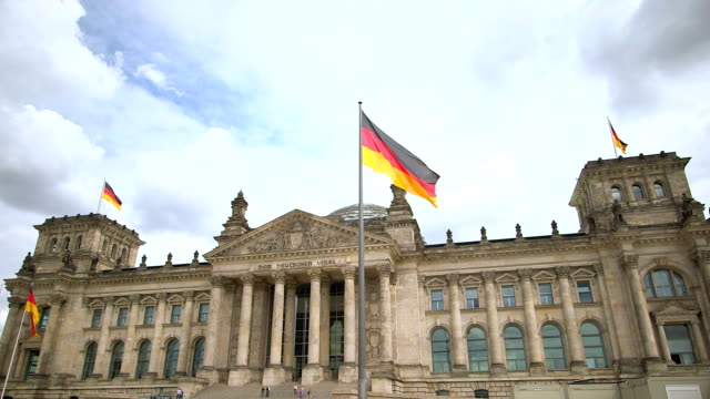 The Reichstag in Berlin, Germany video