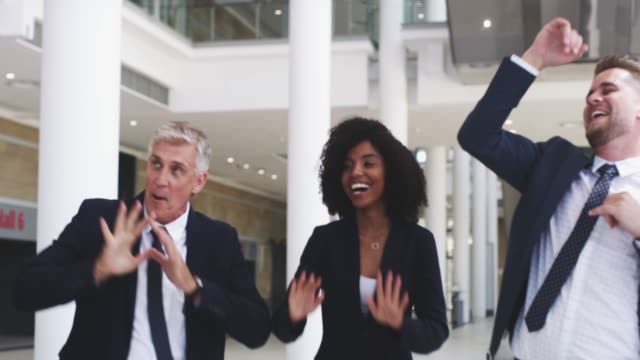 The right moves from the boardroom to the dance floor