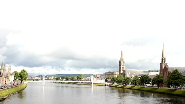 The river in Inverness video