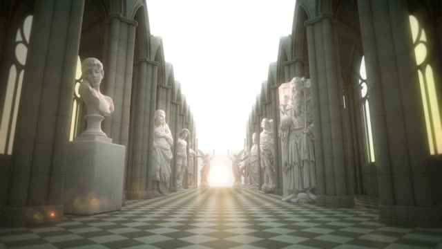 The road to eternity VI Light at the End of the corridor VI eternity stock videos & royalty-free footage