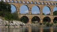istock The Roman Bridge Pont du Gard and the Gardon River,Resmoulin, Gard, Occitanie,France 1256708754