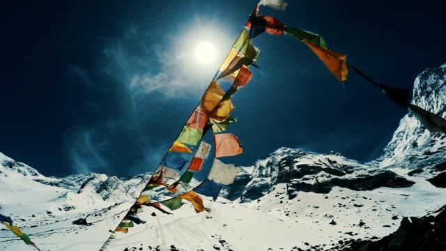 屋上の世界 - ネパール点の映像素材/bロール