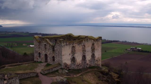 AERIAL: The ruins of Brahehus catlse video