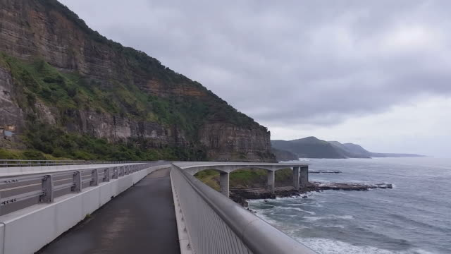 The Sea Cliff Bridge NSW Australia video